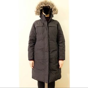 The Northface down filled winter coat